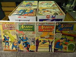 Dc Comics Action Comics Superman 200-599 Silver And Bronze Age You Pick Issues