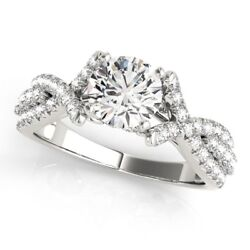 Sale 1.00 Ct Real Diamond Engagement Ring Solid 950 Platinum Rings Size 5 6 8