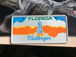 Usa Florida Booster Licence Plate Challenger