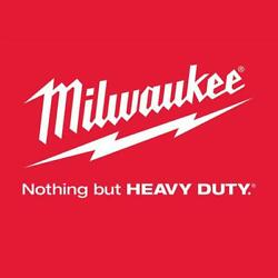 Milwaukee Cable Bit 1/2x72 Inch Auger 3 Flat Power Tool Wood High Speed Steel