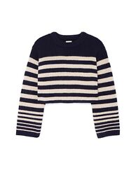 Khaite Dotty Striped 100 Cashmere Sweater Small Nwt, Sold Out, 1420