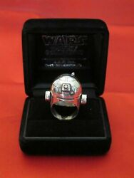 Rare Star Wars Japan Official Sterling Silver Ring R2-d2 Awesome Ring Jap Kobo