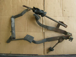 1968 Chevelle Ss Clutch And Brake Pedals And Release Z Bar And Push Rod G M Original