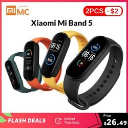 In Stock Xiaomi Mi Band 5 Smart Bracelet 1.1 Amoled Colorful Screen Heart Rate