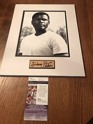 Sidney Poitier Jsa Coa Signed Autographed Display Lillies Of The Field Oscar Win