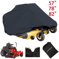 Waterproof Riding Lawn Mower Tractor Cover Zero Turn Dust Protector 57 78 82