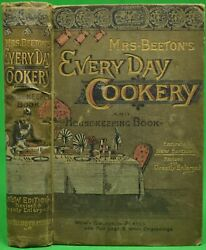 Beetonand039s Every-day Cookery And Housekeeping Book 1890