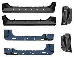 Inner And Outer Rocker Panel And Cab Corner Kit 97-03 Ford F150 Standard Cab