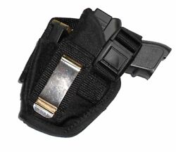 Universal Belt Clip Holster W/mag Pouch For Small 9/40/45 Compact Usa Made