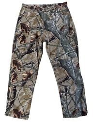 Wrangler Jeans Fusion 3d Camo Pattern Hunting Pants Mens 38 X 32 Fast Shipping