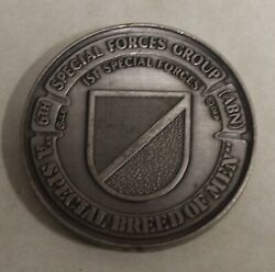 6th Special Forces Group Airborne A Special Breed Of Men Serial Challenge Coin