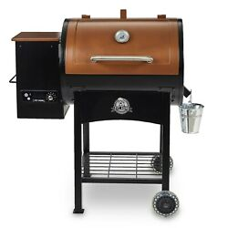 Wood Pellet Grill With Flame Broiler And Digital Control Outdoor Cooking Grill