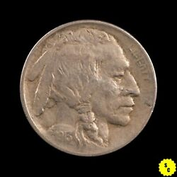 1913 Type 1 Buffalo Nickel, Xf Condition, Full Horn First Year Indian 133