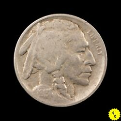 1913 Type 1 Buffalo Nickel, Vf Condition, Nearly Full Horn, First Year 146