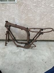 1969-1972 Triumph Tr6 Trophy Tr6c 650 Frame Chassis And Swing Arm