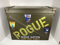 Small Arms Ammunition Cartridge Metal Box Case Rogue Brewing Company Repurposed