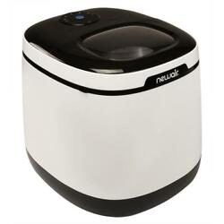 Countertop Ice Maker One Button Operation Easy Clean White Removable Basket Home