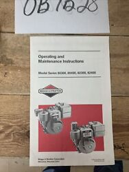 Briggs Stratton 80300 80400 82300 And 82400 Horizontal 3 Hp Engine Owner Manual