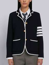 Thom Browne 4-bar Double-face Sport Coat Size 36