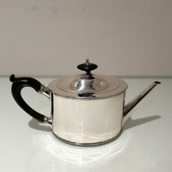 18th Century Antique George Iii Sterling Silver Teapot London 1786robert Hennell