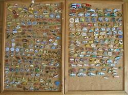 Collection Pins 2050 Piece Auto Truck Motorcycles Fire Brigade Police Oldtimer