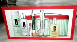 New Best Of Clinique Set 7 Full Size Items 234.50 Value Lotion,serum,mascara+++