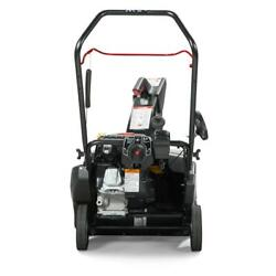 Single-stage 22 In. 208 Cc Gas Snowthrower With Snow Shredder Serrated Auger