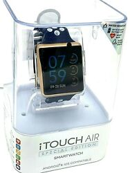Itouch Air Smart Watch Special Edition Bluetooth Android Ios Blue Rubber Strap