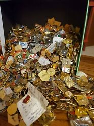 Vintage Russian Pins, Bears And Watch Lot