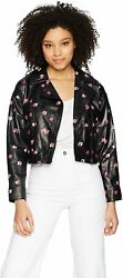Rebecca Taylor Womenand039s Floriana Leather Jacket