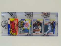 1989 Fleer Baseball Cards Cello Rack Pack Sealed Bbce Wrapped Authentic Griffey