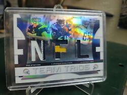 2008 Playoff Absolute Rivers/gates/tomlinson San Diego Chargers Sp Relic 14/25