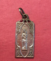 Antique Our Lady Of Sion Medal Religious/ Catholic