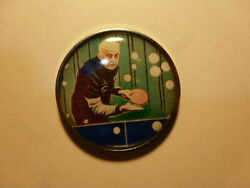 Pin Pinand039s Badge Pins Tennis De Table Ping Pong Jacques Secretin French Champion