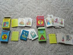 Vtg Old Maid Snap Rummy Donkey Lot Card Game Instructions Complete 1986