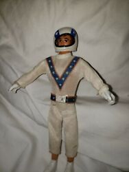 Evel Knievel Evil Action Figure Stunt Cycle Doll 1972 Ideal Toy Co.
