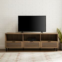 Tv Console Table Modern Entertainment Center Unit Tv Cabinet Stand For 80 Tvs