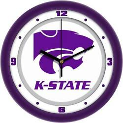 Kansas State Wildcats Traditional Wall Clock, New