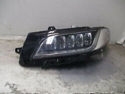 2017-2020 Lincoln Continental Driver Lh Head Light Lamp Oem