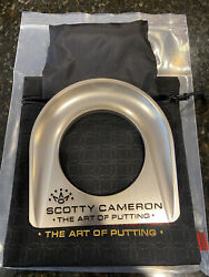 Scotty Cameron 2021 Mardi Gras Release 7 Point Crown Gold Putting Cup W/ Balls