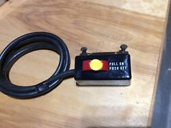 Craftsman Table Saw Power Switch W/ Key 113 Or 315 Series Ex Cond