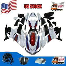 Injection Mold Abs White Fairing Fit For Kawasaki Ninja Zx14r 2006-2011 D034
