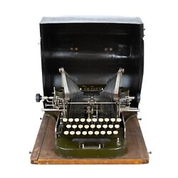 Works Rare Oliver No. 2 Antique Typewriter - Complete Package