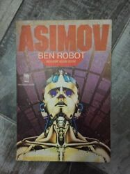 Asimov - I Robot Book From Middle East 2nd Print 1983 Cover Art Sci Fi Robots