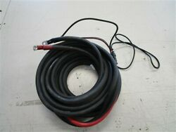 Evinrude Johnson 0587302 20and039 Foot 2/2 Gauge Copper Battery Cable Marine Boat