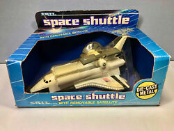 Vintage Ertl Die-cast Space Shuttle 1514, W/ Removable Satellite, New In Box