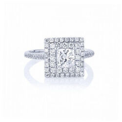 Special Sale 1.50 Ct Diamond Ring Solid 14k White Gold Womenand039s Band 5 6 7 8