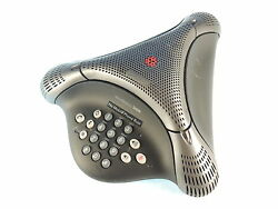 Polycom Voicestation Vs300 Wired Analog Conferencing Phone 2200-17910-001 Tested
