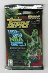 1999/2000 Topps Series 1 Pack--factory Sealed--unsearched