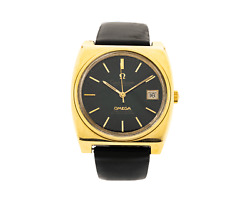 Vintage Omega Constellation 166.063/168.048 Automatic Date 14kt Yellow Gold